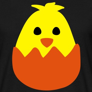 Hatching Easter Chick T-Shirts - Men's T-Shirt