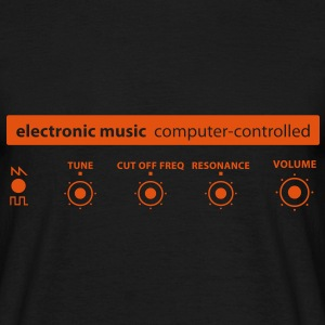 electronic_music T-skjorter - T-skjorte for menn