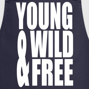 Young Wild and Free II  Aprons - Cooking Apron