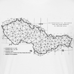 Astrogeodetic Network ČSSR '83 T-Shirts - Men's T-Shirt