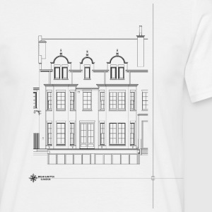 Building Elevation - Men's T-Shirt