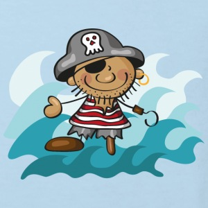 The Little Pirate and the Sea Kinder shirts - Kinderen Bio-T-shirt