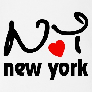 I love New York Baby Body - Baby Bio-Kurzarm-Body