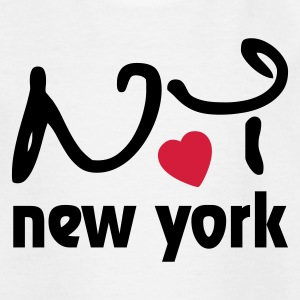 Love New York Kids' Shirts - Teenage T-shirt