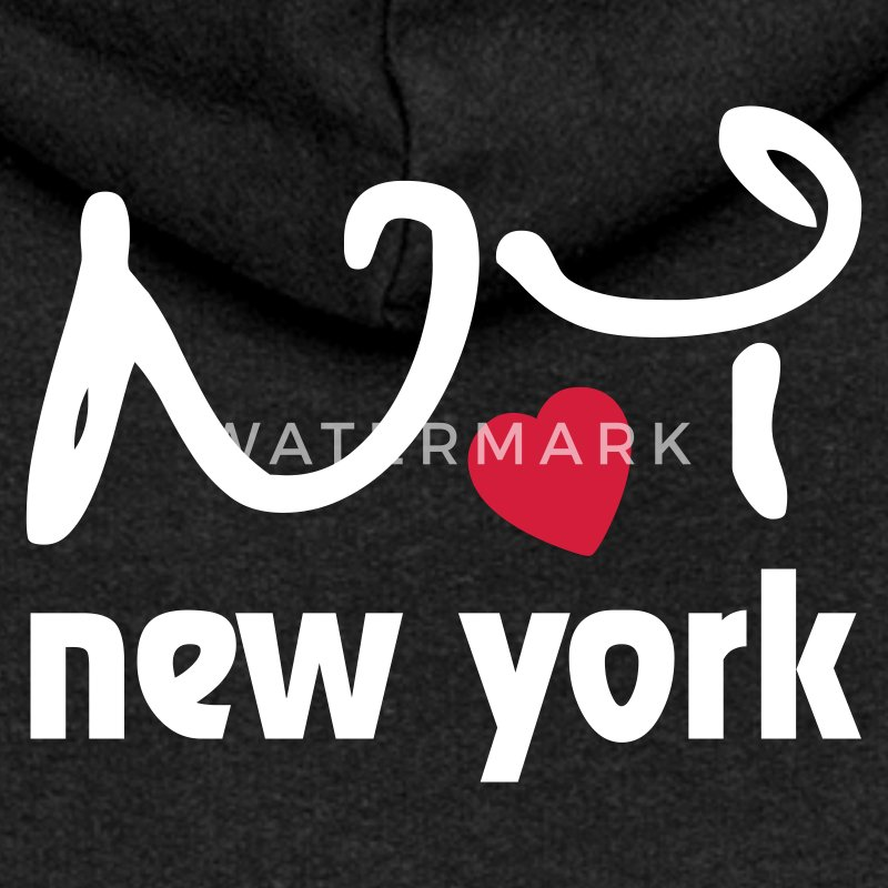 I love New York Sweat-shirts - Veste à capuche Premium Femme