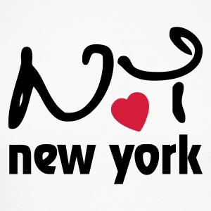 Love New York Long sleeve shirts - Men's Long Sleeve Baseball T-Shirt