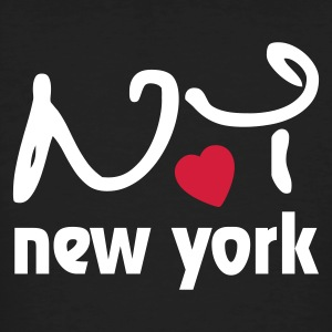 I Love New York T-shirt - T-shirt ecologica da uomo