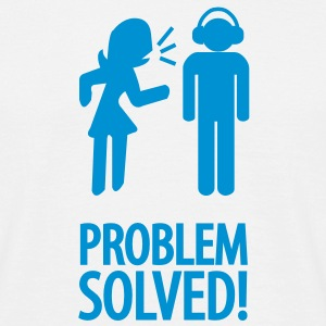 problem solved! T-shirts - Herre-T-shirt