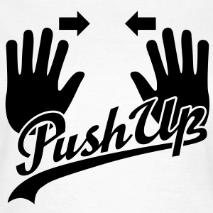 Push Up T-Shirts - Dame-T-shirt