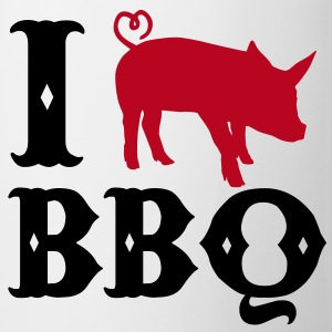 I love BBQ Tasses - Tasse