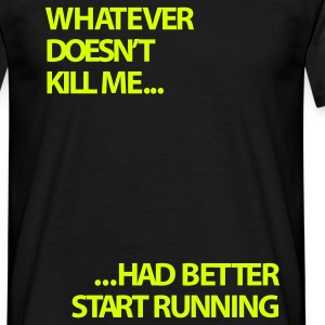 running | Mens T-shirt - Men's T-Shirt