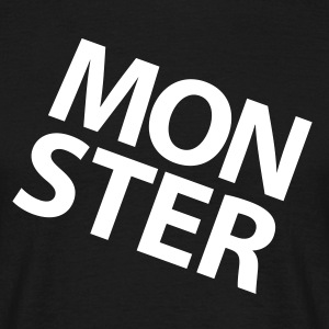 MONSTER |  Mens T-shirt - Men's T-Shirt
