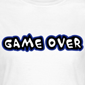 Game Over Tee shirts - T-shirt Femme