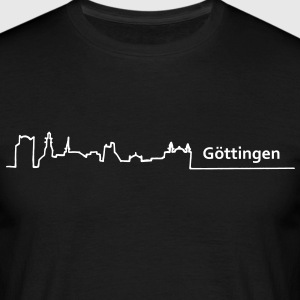 goettingen skyline - Männer T-Shirt