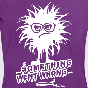 'SomethingWentWrong' Frauen Kontrast T-Shirt - Frauen Kontrast-T-Shirt