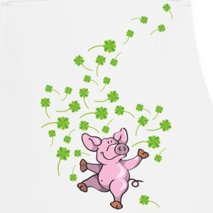 Little pig in good luck  Aprons - Cooking Apron