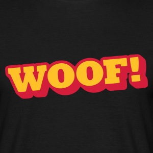 woof T-Shirts - Men's T-Shirt