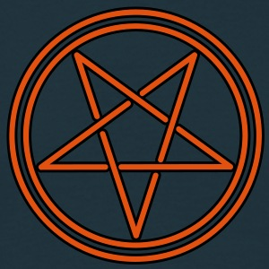 gothic pentagram T-Shirts - Men's T-Shirt