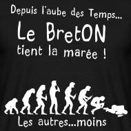 Motif ~ Tee shirt le breton tient la maree