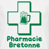 Motif ~ Tshirt homme c2b phamacie bretonne