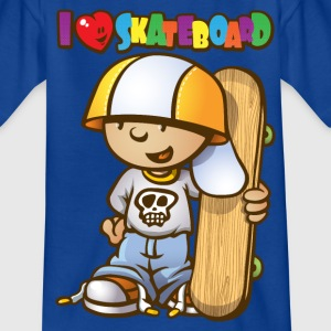 Kid love skateboard - T-shirt Enfant