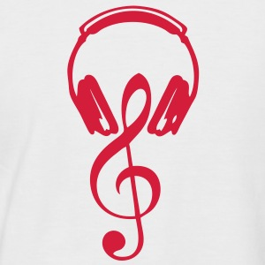 egaliseur casques dj cle sol note2 Tee shirts - T-shirt baseball manches courtes Homme