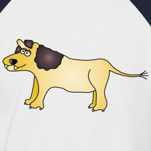 Lion Tee shirts - T-shirt baseball manches courtes Homme
