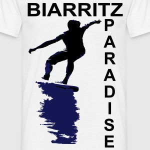Biarritz paradise Tee shirts - T-shirt Homme
