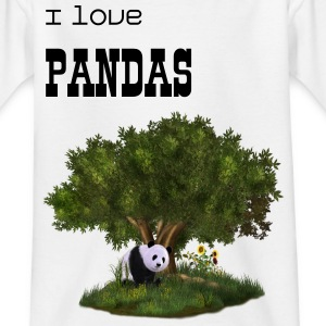 cute Panda - Teenager T-Shirt