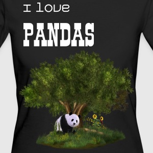 cute Panda - Frauen Bio-T-Shirt