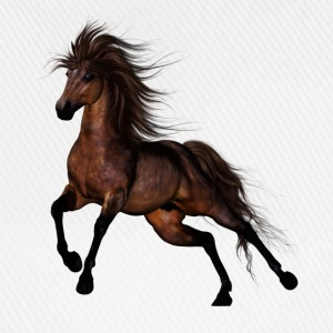 Brown Horse - Baseballkappe
