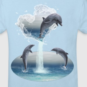 The Heart From The Dolphins - Kinder Bio-T-Shirt