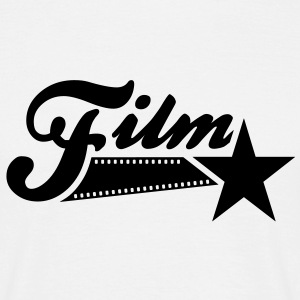 Film Star / Filmstar T-Shirt BW - Men's T-Shirt