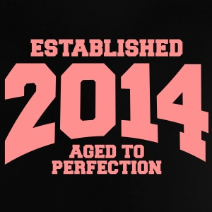 aged to perfection established 2014 (no) Babyskjorter - Baby-T-skjorte