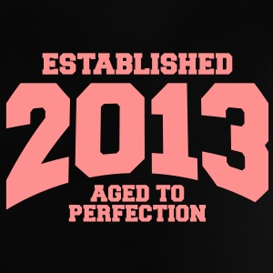 aged to perfection established 2013 (no) Babyskjorter - Baby-T-skjorte
