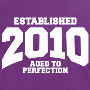 aged to perfection established 2010 (fr) Tee shirts - T-shirt contraste Femme