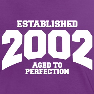 aged to perfection established 2002 (it) T-shirt - Maglietta Contrast da donna