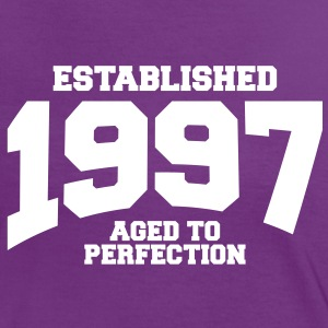 aged to perfection established 1997 (uk) T-Shirts - Women's Ringer T-Shirt