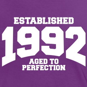 aged to perfection established 1992 (fr) Tee shirts - T-shirt contraste Femme