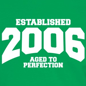aged to perfection established 2006 (it) T-shirt - Maglietta Contrast da uomo