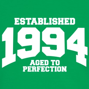 aged to perfection established 1994 (nl) T-shirts - Mannen contrastshirt