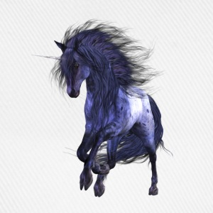 Blue Unicorn - Baseballkappe