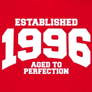 aged to perfection established 1996 (it) T-shirt - Maglietta da uomo