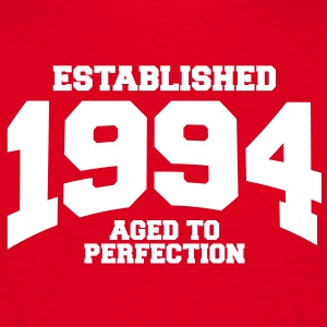 aged to perfection established 1994 (uk) T-Shirts - Men's T-Shirt