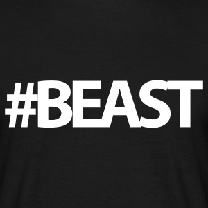 #Beast | Mens Tee - Men's T-Shirt