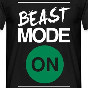 Beast Mode On | Mens Tee - Men's T-Shirt