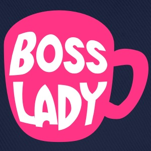 boss lady coffee mug cup hot pink Caps & Hats - Baseball Cap