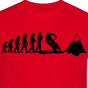 mountainbike evolution T-Shirts - Männer T-Shirt