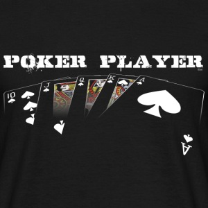 Tee-shirt Poker Player white edition - T-shirt Homme