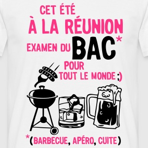 bac reunion barbecue apero cuite biere Tee shirts - T-shirt Homme